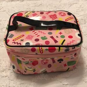 Pink Kate Spade Makeup Bag
